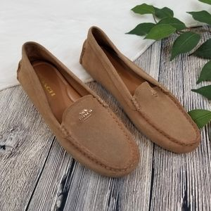 Coach Amber Suede Loafers Shoes